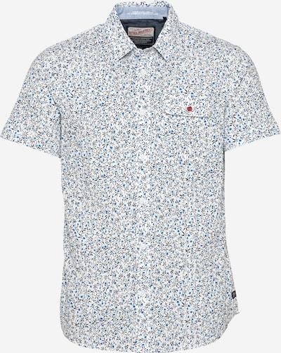 Petrol Industries Skjorta i blå / svart / vit, Produktvy