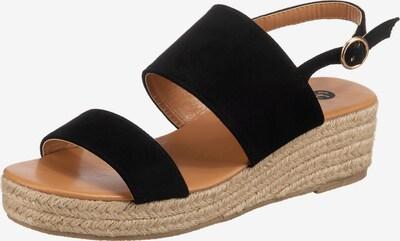 SuperCracks Sandalette 'Deanne' in schwarz, Produktansicht