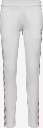 Hummel Sportbroek in de kleur Goud / Wit, Productweergave
