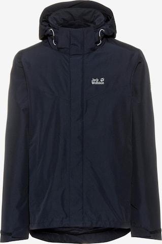 JACK WOLFSKIN Outdoor jacket 'Arland' in Blue