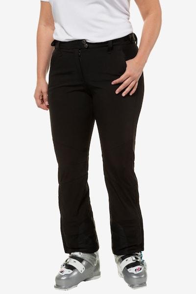 Ulla Popken Skihose in schwarz, Modelansicht