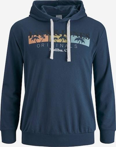 Jack & Jones Plus Sweat-shirt 'CABANA' en marine / mélange de couleurs, Vue avec produit