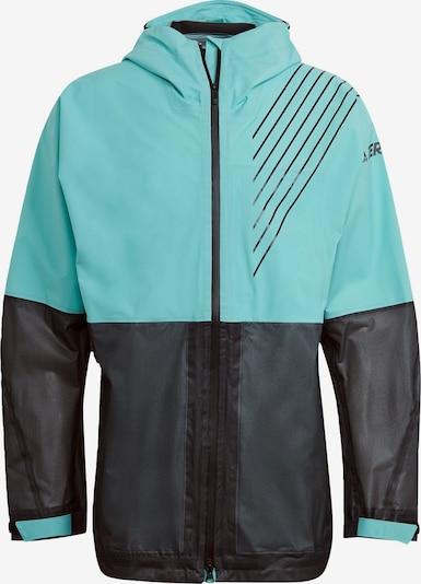 adidas Terrex Sportjacke in mint / schwarz, Produktansicht