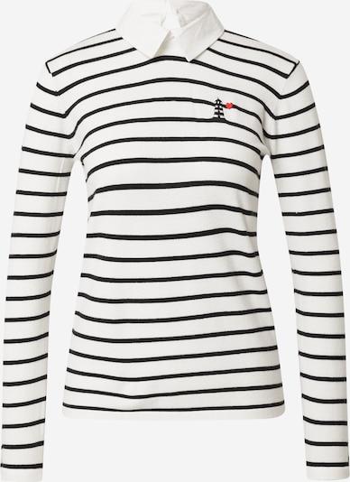 Molly BRACKEN Sweat-shirt 'LADIES KNITTED SWEATER' en blanc, Vue avec produit