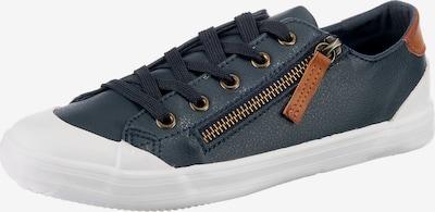 Inselhauptstadt Sneaker in dunkelblau / braun, Produktansicht