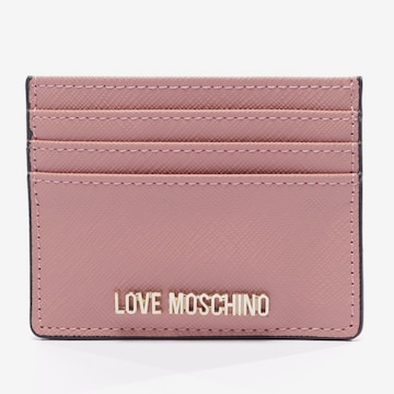 Love Moschino Small Leather Goods in One size in Pink