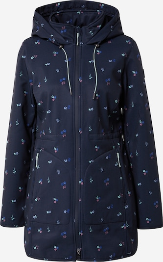 TOM TAILOR Jacke in opal / himmelblau / dunkelblau / pitaya, Produktansicht