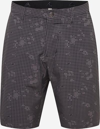 adidas Golf Sportbyxa i basalgrå / svart, Produktvy