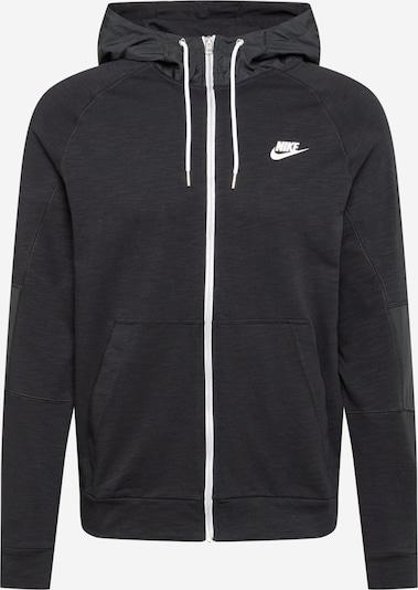 Nike Sportswear Tepláková bunda - čierna / biela, Produkt