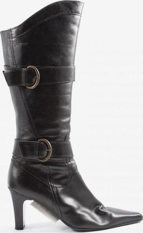 Venturini Milano Dress Boots in 39 in Black