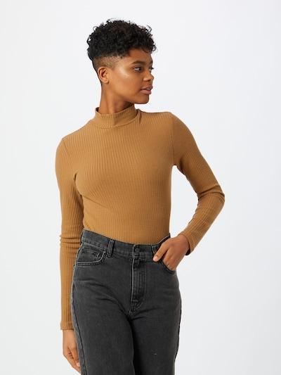 Marškinėliai 'Liza' iš ONLY , spalva - ruda, Modelio vaizdas