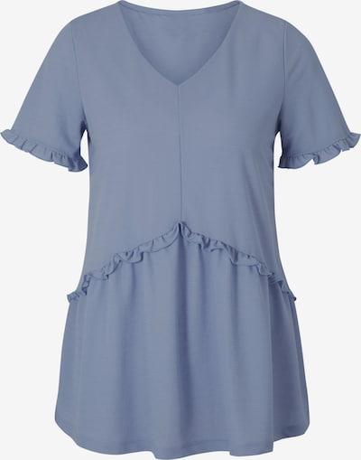 Linea Tesini by heine T-Shirt in taubenblau, Produktansicht