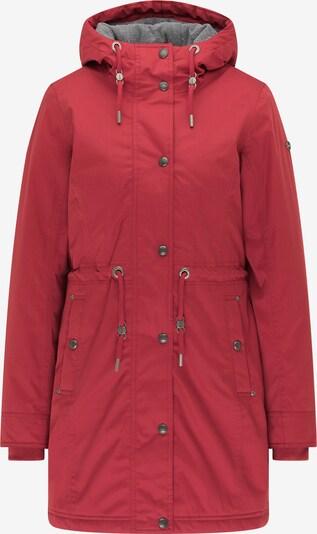 DreiMaster Maritim Parka d'hiver en rouge pastel, Vue avec produit
