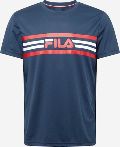 FILA Toiminnallinen paita 'Niclas' värissä tummansininen / punainen / valkoinen, Tuotenäkymä