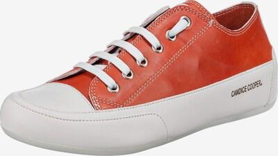 Candice Cooper Sneakers in dunkelorange / weiß, Produktansicht