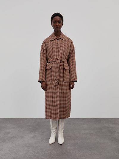 EDITED Prechodný kabát 'Aileen' - zmiešané farby / červená, Model/-ka