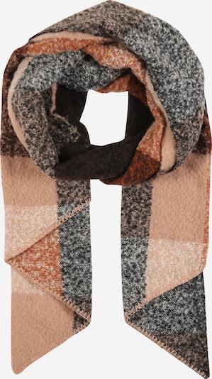 Šalikas 'PYRON' iš PIECES , spalva - ruda / šviesiai ruda / juoda, Prekių apžvalga