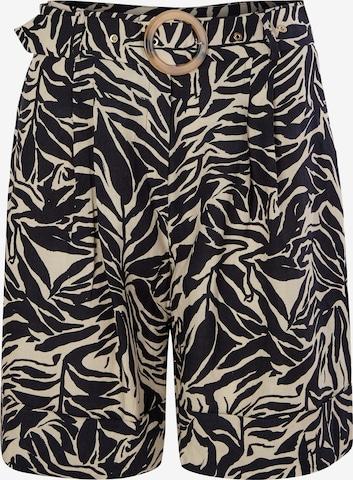 s.Oliver BLACK LABEL Shorts in Schwarz
