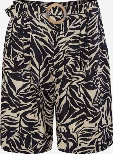 s.Oliver BLACK LABEL Pantalon en jaune foncé / noir, Vue avec produit