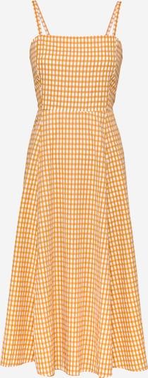GAP Kleid in safran / weiß, Produktansicht