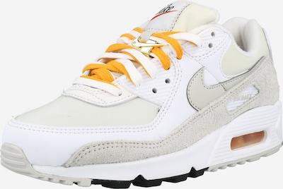 Nike Sportswear Sneakers 'Max 90 SE' in Light grey / Orange / White, Item view