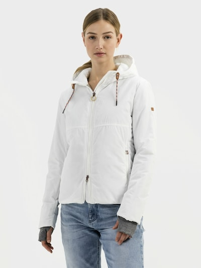 CAMEL ACTIVE Between-Season Jacket in White: Frontal view