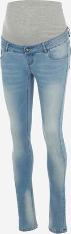 MAMALICIOUS Jeans i blå