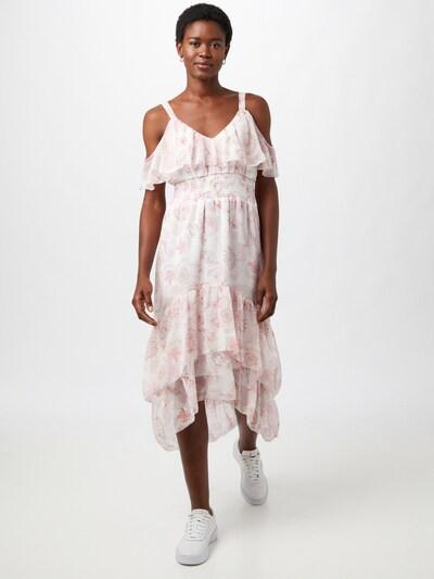River Island Kleid 'CARA' in puder / hellpink / weiß, Modelansicht