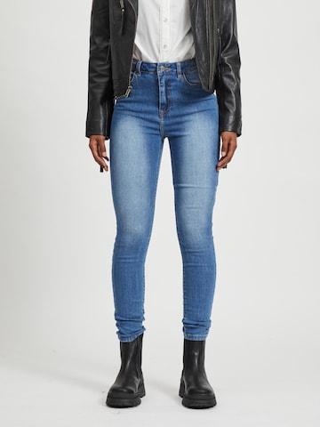 VILA Jeans in Blauw