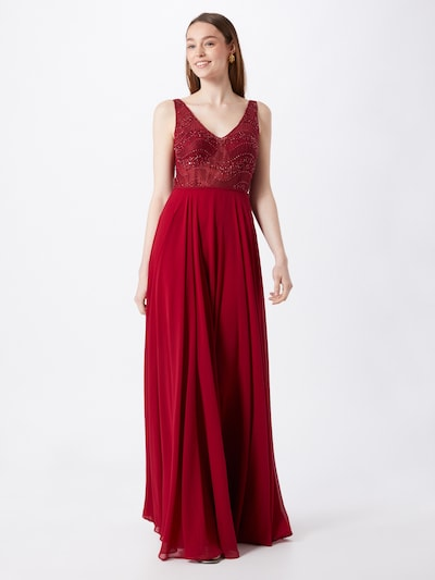 STAR NIGHT Kleid in rot, Modelansicht