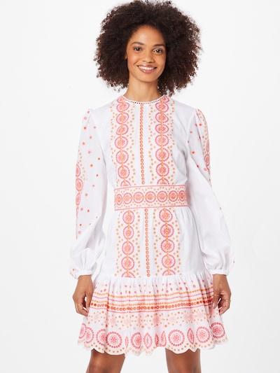 Rochie MICHAEL Michael Kors pe portocaliu / roz / alb, Vizualizare model