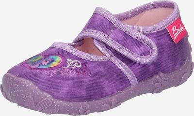 BECK Pantofle 'Darling' - světle zelená / orchidej / světle fialová / tmavě fialová / stříbrná, Produkt