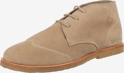 KICKERS Kicka Schnürschuhe in beige, Produktansicht