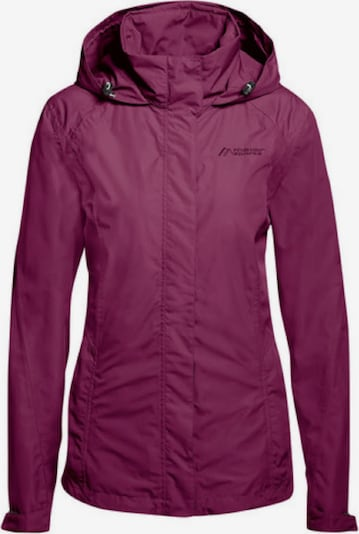 Maier Sports Jacke in lila / beere / dunkelpink, Produktansicht