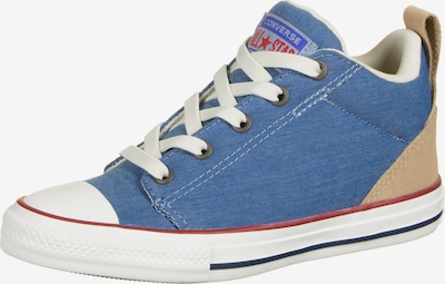 CONVERSE Sneakers 'Chuck Taylor All Star Ollie' in de kleur Blauw / Lichtbruin / Rood / Wit, Productweergave