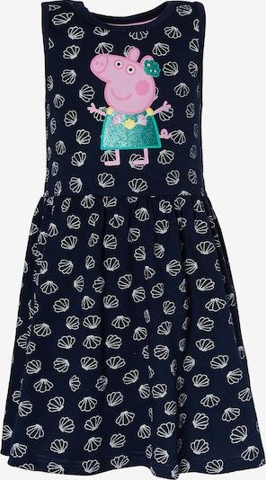 Peppa Pig Kleid in navy / mint / rosa / weiß, Produktansicht