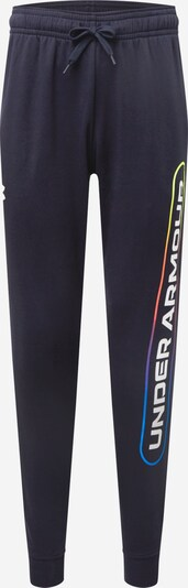 UNDER ARMOUR Sportbyxa 'RIVAL FLC LOCKERTAG' i blandade färger / svart / vit, Produktvy