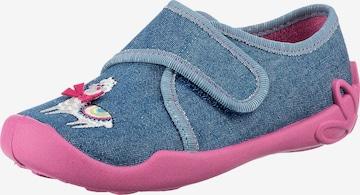 Fischer-Markenschuh Schuh in Blau