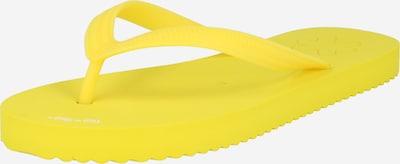 Flip-flops FLIP*FLOP pe galben, Vizualizare produs