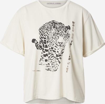 CATWALK JUNKIE T-Krekls 'HUNTING' bēšs / melns, Preces skats