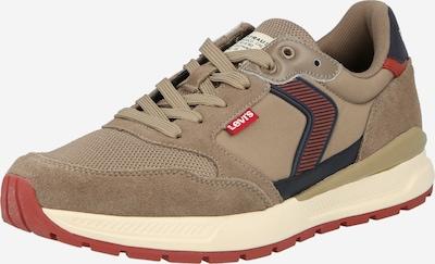 Sneaker low 'OATS' LEVI'S pe albastru marin / gri taupe / roșu ruginiu, Vizualizare produs