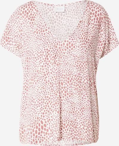 VILA Shirt in de kleur Rood / Wit, Productweergave