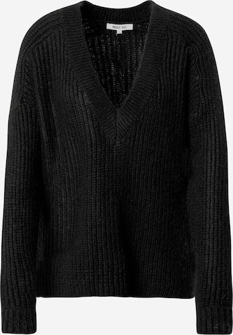 ABOUT YOU Sweater 'Valeska' in Black