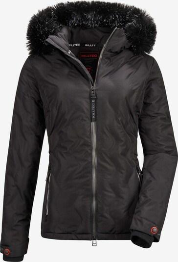 KILLTEC Outdoorjas 'Vogar' in de kleur Zwart, Productweergave
