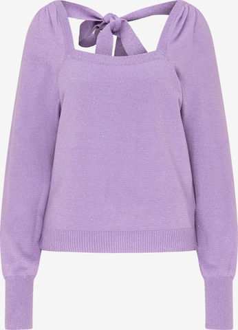 myMo at night Pullover in Lila