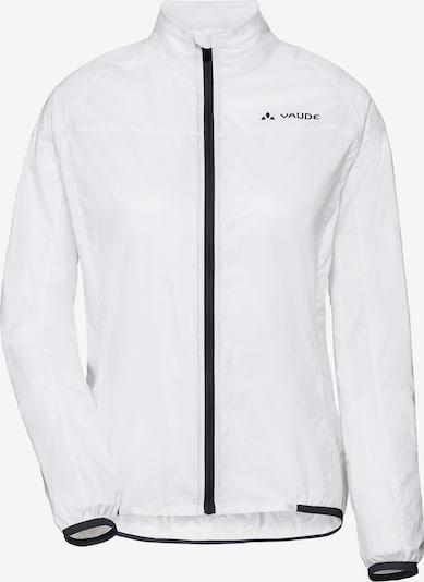 VAUDE Jacke 'Air III' in schwarz / weiß, Produktansicht