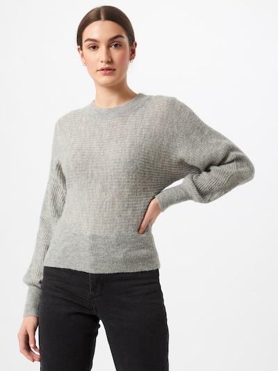 VERO MODA Pullover 'VILMA' in grau, Modelansicht