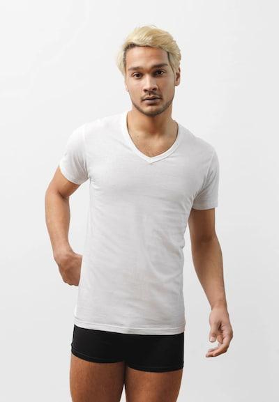 SNOCKS Unterhemd in weiß, Modelansicht