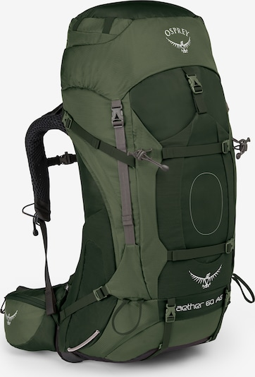 Osprey Sportrugzak 'Aether' in de kleur Groen, Productweergave