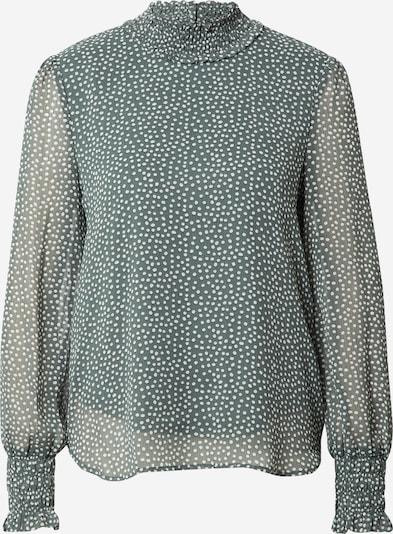 VERO MODA Блуза 'VMSMILLA' в зелено / бяло, Преглед на продукта